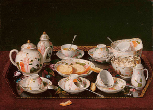 Jean liotard still life tea set 1783
