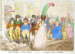 Wench bond-street-gillray-elaine-golden