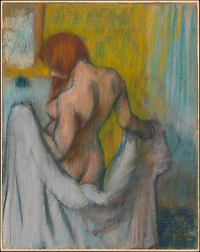 Degas woman with a towel 1894