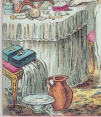 Wench washing basin gilroy 1810