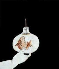Utamaro_goldfish