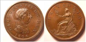 Penny 1806