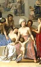Jean-Jacques-Francois Lebarbier-A Female Turkish Bath or…1785