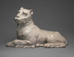 Lioness Meissen 1732 porcelain