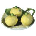 Meissen porcelaindish three attached lemon boxrs c 1760
