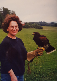 Wenchsusan w harris hawk