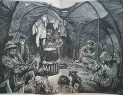 Wench 1880 george coalville familytent